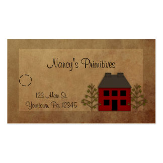 Primitive Home Hang Tag Pack Of Standard Business Cards