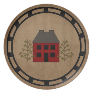 Primitive House Plate