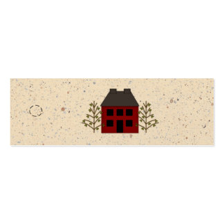 Primitive House Skinny Hang Tag Pack Of Skinny Business Cards