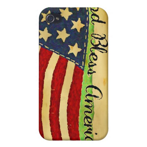 Primitive Old Glory God Bless America iPhone Case iPhone 4 Cases