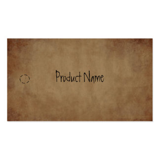 Primitive Paper Hang Tag Pack Of Standard Business Cards