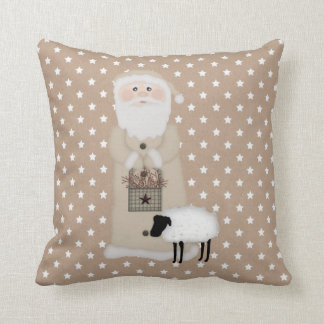 Primitive Santa Pillow