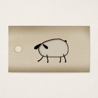 Primitive Sheep Hang Tag