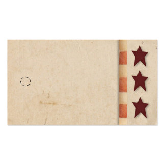 Primitive Star Hang Tag Pack Of Standard Business Cards