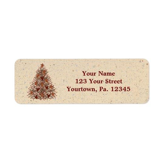 Primitive Tree Address Label