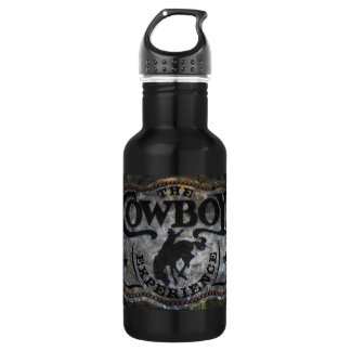 Primitive western country Horse cowboy rodeo 532 Ml Water Bottle