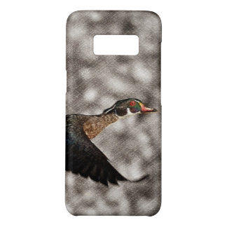 Primitive Western Country waterfowl wood duck Case-Mate Samsung Galaxy S8 Case