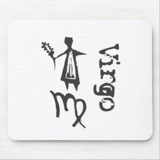 Primitive Zodiac Sign- Virgo Mouse Pad