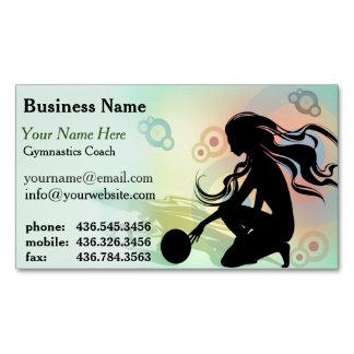 Primo Gymnastics 2 Coach Magnetic Business Card Magnetic Business Cards
