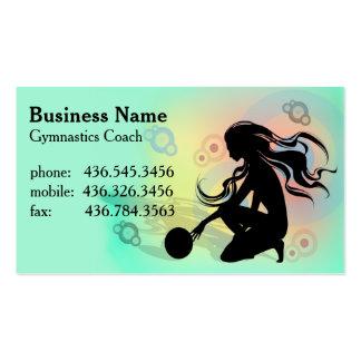Primo Gymnastics  - Gymnastics Coach Business Card Templates