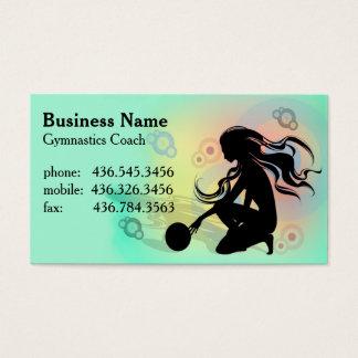 Primo Gymnastics  - Gymnastics Coach Business Card