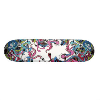 primordial soup 21.6 cm old school skateboard deck