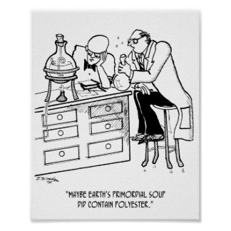Primordial Soup Cartoon 9477 Poster