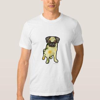 Primrose Pug Tee Shirts