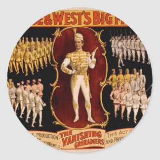 Primrose West s The Vanishing Grenadiers Round Sticker