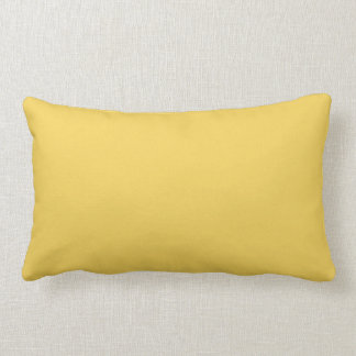 Primrose Yellow Colour Lumbar Cushion