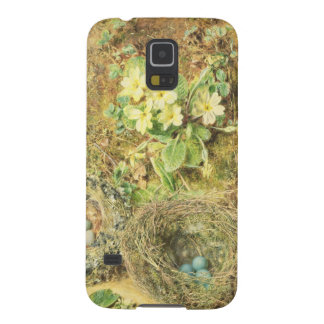 Primroses and Birds' Nests Galaxy S5 Cases