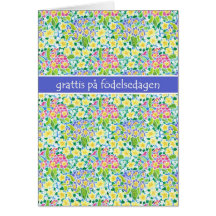 Swedish birthday cards invitations zazzle bookmarktalkfo Choice Image