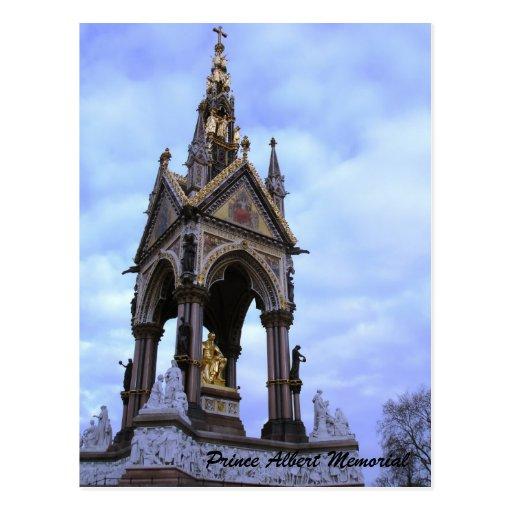 Prince Albert Memorial Postcard