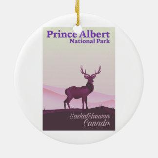 Prince Albert National Park, Saskatchewan, Canada Christmas Ornament