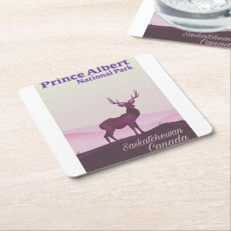 Prince Albert National Park, Saskatchewan, Canada Square Paper Coaster