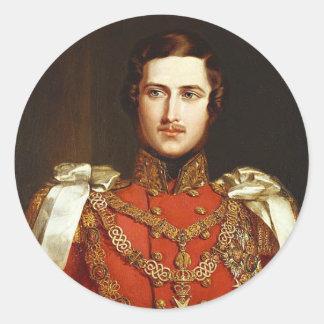 Prince Albert Round Sticker
