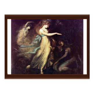 Prince Arthur And The Fairy Queen By Füssli Johann Post Card