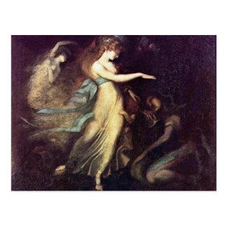 Prince Arthur And The Fairy Queen By Füssli Johann Postcard