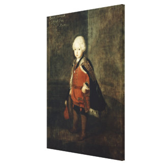 Prince Augustus William aged four, 1734 Canvas Print