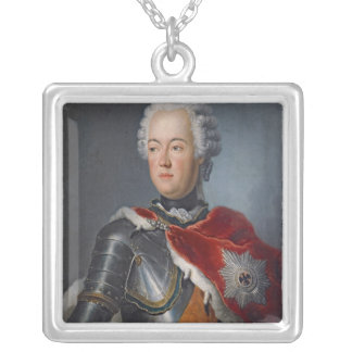 Prince Augustus William Silver Plated Necklace