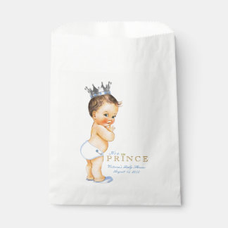 Prince Baby Shower Favour Bags