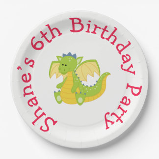 Prince Birthday Party Paper Plate
