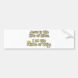 Prince Bumper Sticker