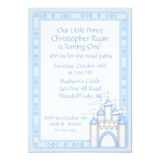 Prince Castle Party Invitation