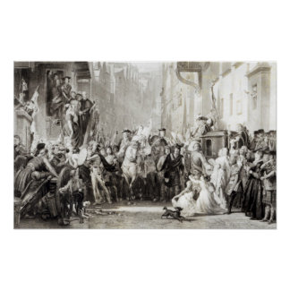 Prince Charles Edward  and the Highlanders Poster