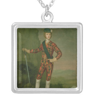Prince Charles Edward Stuart Silver Plated Necklace