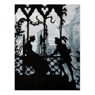 Prince Charming and Princess Post Card
