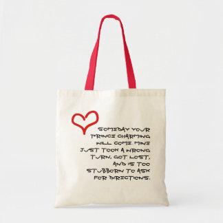 Prince charming budget tote bag