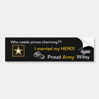 Prince charming or HERO? Bumper Stickers