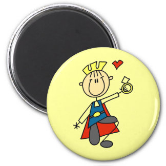 Prince Charming Proposes Marriage Magnets