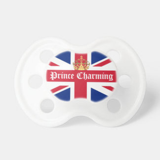 Prince charming royal baby pacifiers