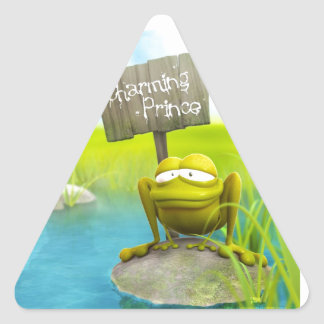 Prince Charming? Triangle Sticker