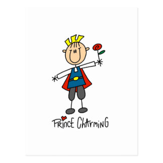 Prince Charming Tshirts and Gifts Postcard