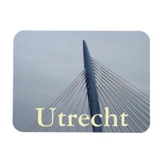 Prince Claus Bridge, Utrecht Rectangular Magnets