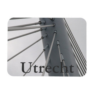 Prince Claus Bridge, Utrecht Vinyl Magnet