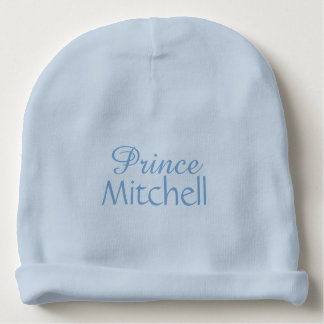 """Prince"" custom name infant hat Baby Beanie"
