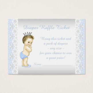 Prince Diaper Raffle Ticket