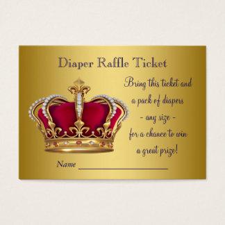 Prince Diaper Raffle Tickets