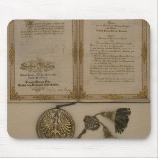 Prince Diploma Mouse Mat