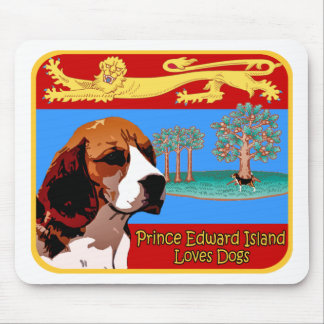Prince Edward Beagle Mouse Pad